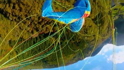 Rescue paragliding