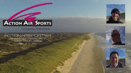 Dunes paragliding HD