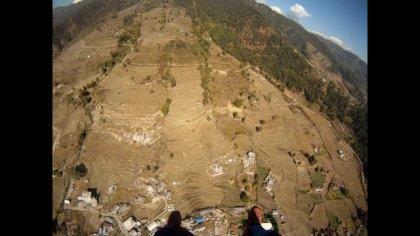 Acro speedflying in Pokhara