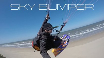 SKY BUMPER - the new way of paragliding - HD