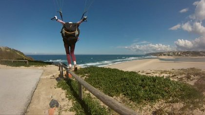 Paragliding Wagas Portugal, Fly Nazare