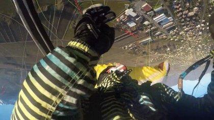 Los Grandes Hombres, God of acro paragliding
