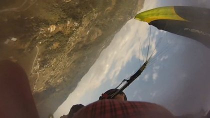 Paragliding NEPAL 2016 - SAT, Dynamic Full Stall, Misty Flip - Niviuk F-Gravity2 20m