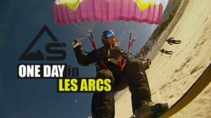 ONE DAY in LES ARCS