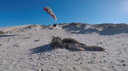 The Danger Dunes!.. Wagga paragliding in Portugal.