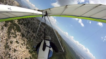 Hanggliding in Laragne