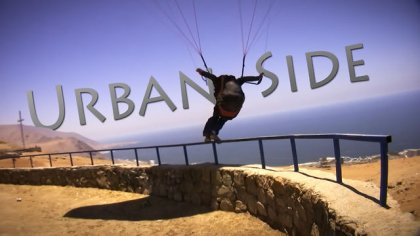 Urban Side, paragliding in the city