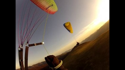 My first year of paraglliding
