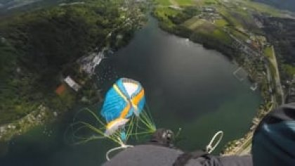 Acro Paragliding Fails - or how to Infinot