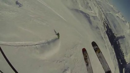 Tailgate Alaska 2013; 5 epic days of Speedflying/Skiing/Sled mountaineering