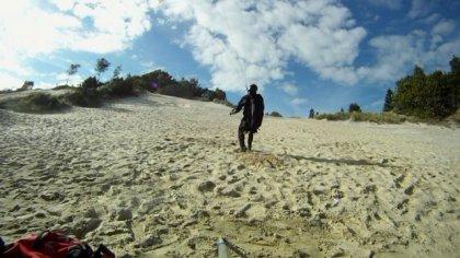 soft soaring at dune de la Hvidbjerg
