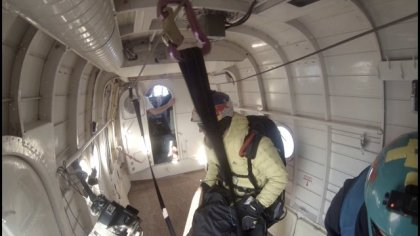 Jumping out of a plane with Paraglider 4000m