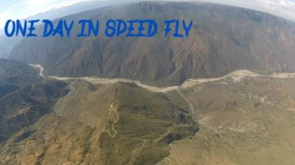speed fly chicamocha cañon