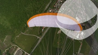 Agility 17sqm from Gradient Paragliders - Training run