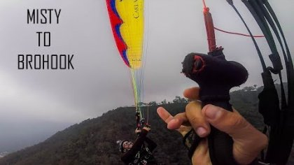 misty to bro hook acro paragliding U-turn acro team