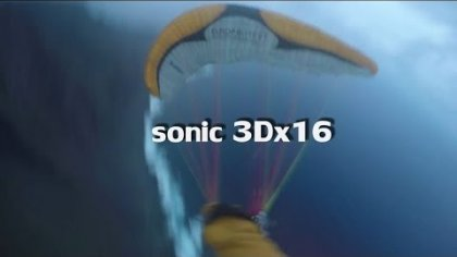 Sol Sonic 3Dx 16 sqm acro glider