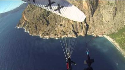 Looping down Butterfly Valley
