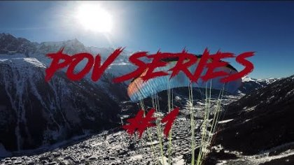 POV Series #1 | INSANE TRICKS | ACRO PARAGLIDING #chamonixmontblanc #twistedminds