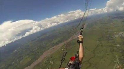 paragliding D-BAG fail. villavicencio colombia