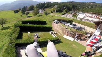 Precision Landing Paragliding