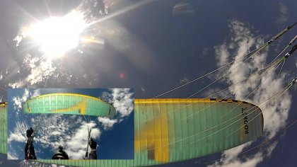 Paragliding rook 777  Wingovers SAT & coconut