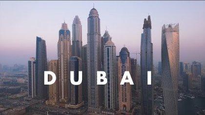 DUBAI // Urban paramotor flying