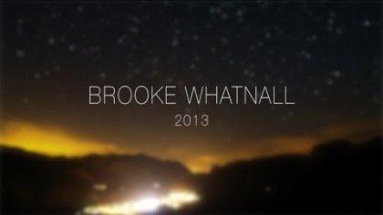 Brooke Whatnall 2013