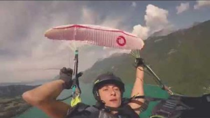 On board with Christina Kolb | WPAC2016 paragliding aerobatics