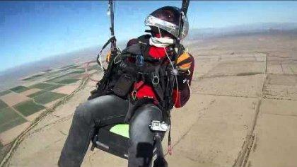 Paraglider Tailslide