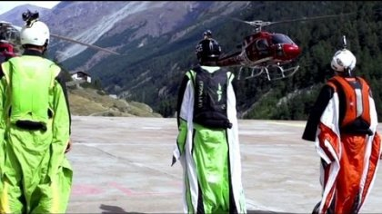 Swiss AC Team - Wingsuit flying with the Sony Action Cam