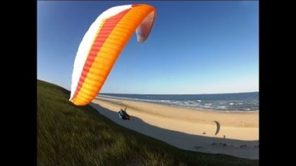 Dune paragliding Holland !!!  HD !!!