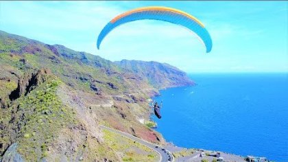 PARAGLIDING CLIFF LAUNCH!