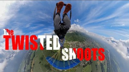 THE TWISTED SHOOTS - ACRO PARAGLIDING POV - THEO DE BLIC