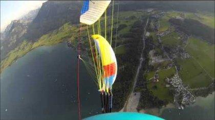 Paragliding Airshow @ Scaleria Air Challenge 2013, Helidrop
