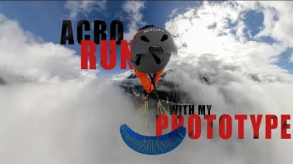 ACRO RUN IN THE CLOUDS WITH MY NOVA PROTOTYPE - THEO DE BLIC