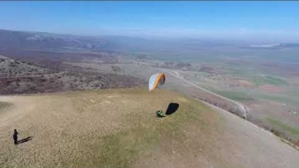 Drone chasing paraglider — Gradient Freestyle shoot by Dji Phantom3