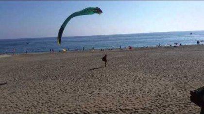 Alanya Tandem Paragliding helco landing
