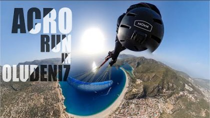 11 tricks acro run in Oludeniz - Théo de Blic POV