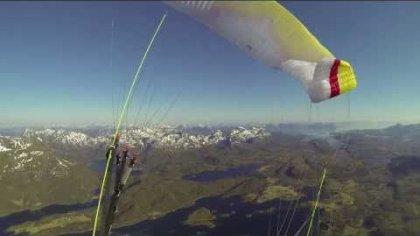 Paragliding Tromsø - Rundtomrask