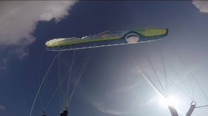 Stall (paragliding practice)