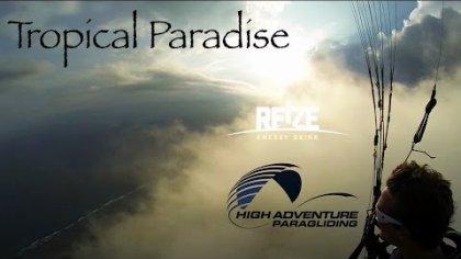 Tropical Paradise - Paragliding Bali