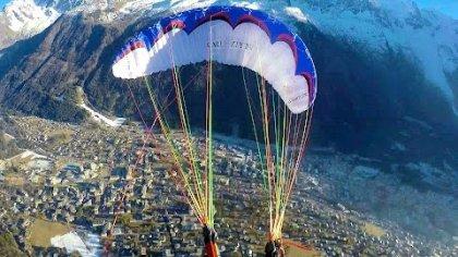 Warm-up Chamonix -  Acro Paragliding