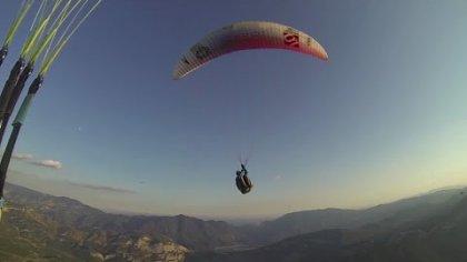 Acro paragliding summer 2016