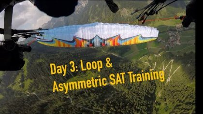 3rd training day (Loop & Asymmetric SAT with U-Turn Morpheus NG)