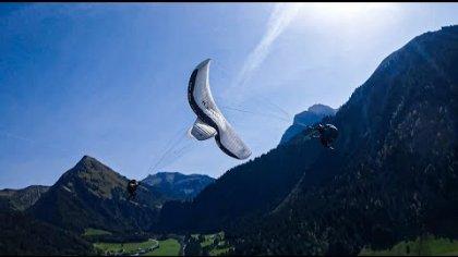 Art of Synchro Flying - FPV Acro Paragliding tricks