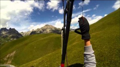 session parapente glandon 2014