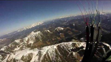 Springtime Acro Paragliding