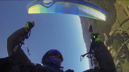 paragliding wingovers freestyle 3