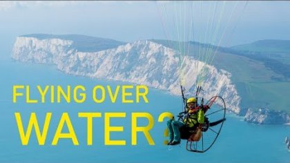 PARAMOTORING TO THE ISLE OF WIGHT!!