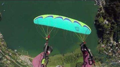 Acro paragliding Gerlitzen 2017